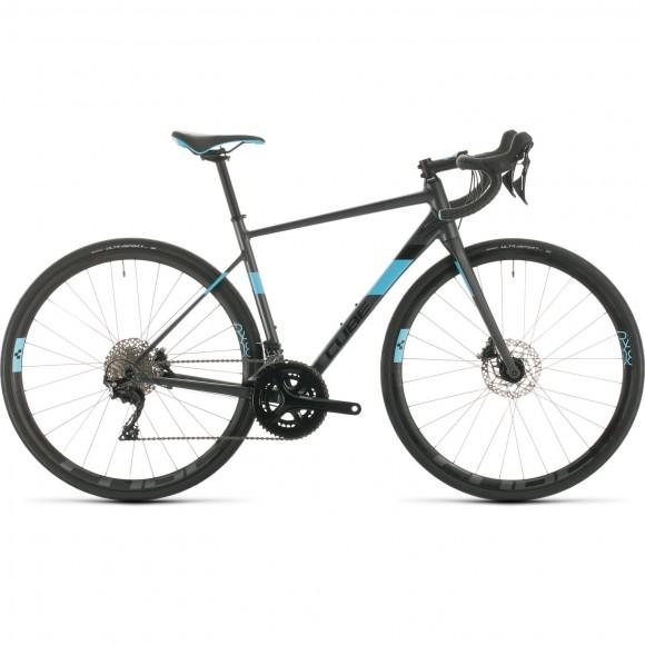 BICICLETA CUBE AXIAL WS RACE Iridium Aqua 2020