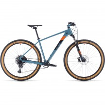 BICICLETA CUBE ACID Bluegrey Orange 2020