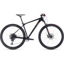 BICICLETA CUBE REACTION RACE Black Orange 2020