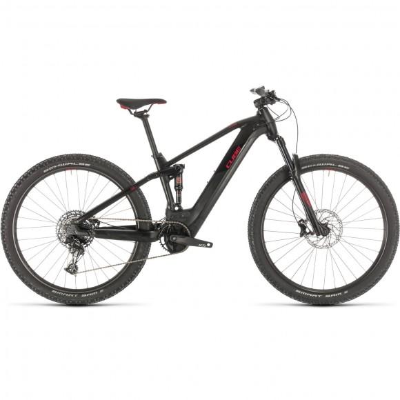 BICICLETA CUBE STEREO HYBRID 120 PRO 500 29 Black Red 2020