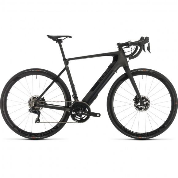 BICICLETA CUBE AGREE HYBRID C:62 SLT Black Edition 2020