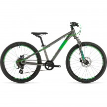 BICICLETA CUBE ACID 240 DISC Grey Neongreen 2020
