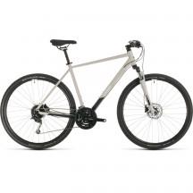 BICICLETA CUBE NATURE PRO Grey White 2020