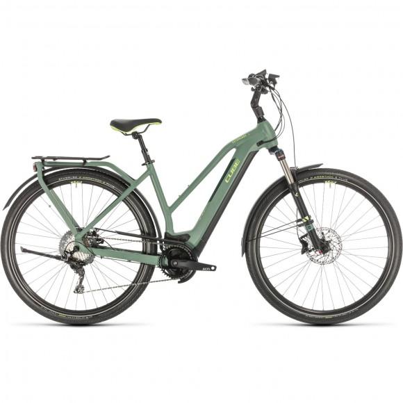 BICICLETA CUBE KATHMANDU HYBRID EXC 500 TRAPEZE Green Green 2020
