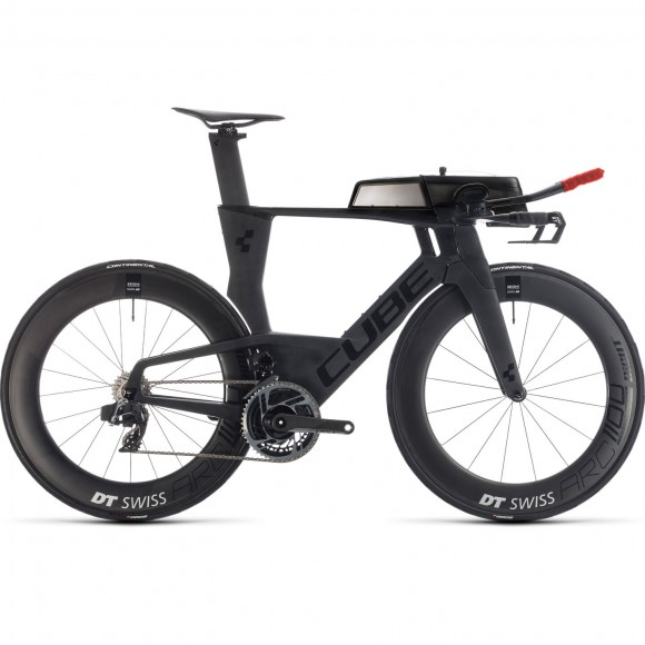 BICICLETA CUBE AERIUM C:68 SLT HIGH Carbon Red 2020