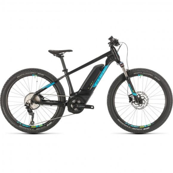 BICICLETA CUBE ACID 240 HYBRID YOUTH SL 400 Black Blue 2020