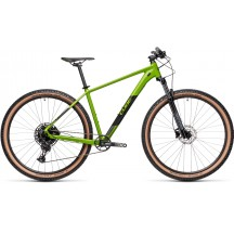 BICICLETA CUBE ANALOG DEEPGREEN BLACK RS 2021