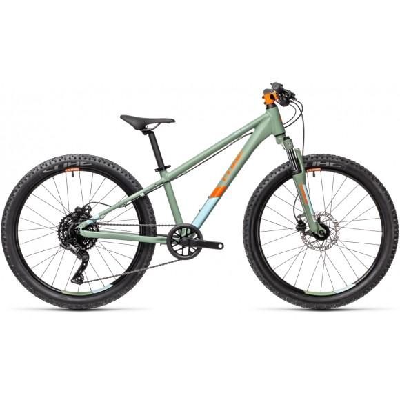 BICICLETA CUBE ACID 240 DISC Green Orange 2021