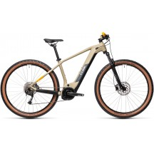 BICICLETA CUBE REACTION HYBRID PERFORMANCE 500 Desert Orange 2021