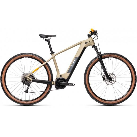BICICLETA CUBE REACTION HYBRID PERFORMANCE 500 Desert Orange 2021