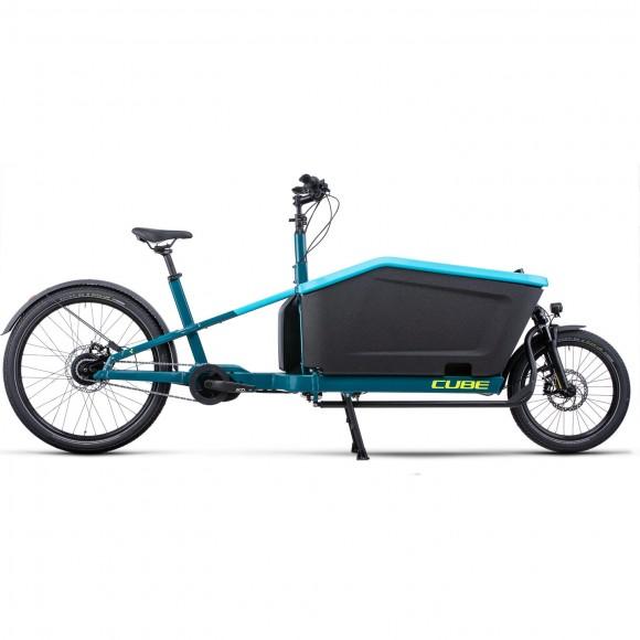 BICICLETA CUBE CARGO DUAL HYBRID 1000 Blue Lime 2022