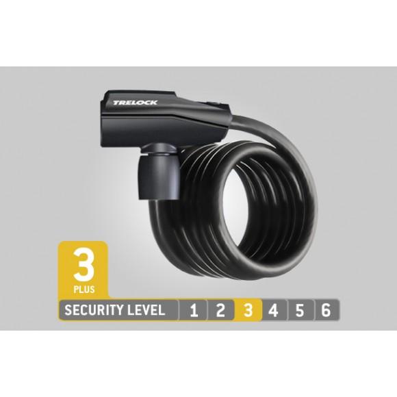 Antifurt  Trelock SK 360/180/13,cablu spiralat
