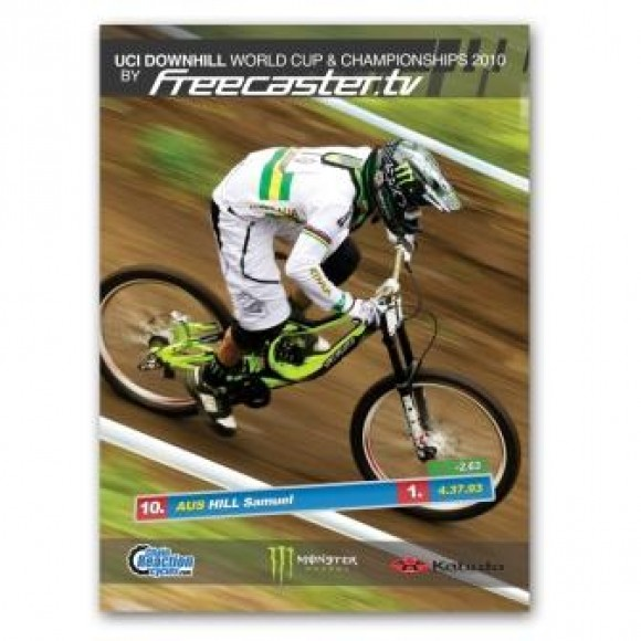 Dvd Film Cupa Mondiala si Campionatul Mondial De Downhill 2010 by Freecaster Tv