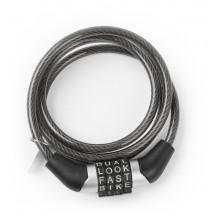 Lacat spiral cu cod Kross KZS 110 1000x6mm black