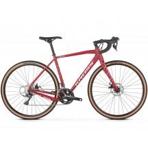 Bicicleta Kross Esker 2.0 28 cherry silver matte 2019