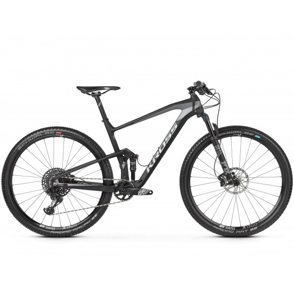 Bicicleta Kross Earth 4.0 29 black graphite matte 2019