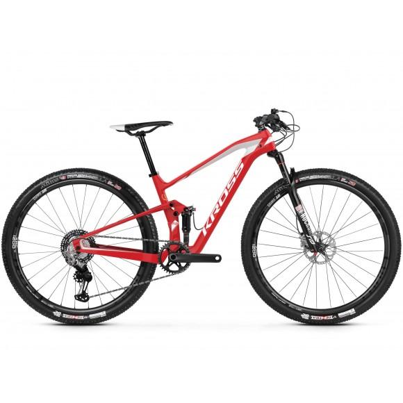 Bicicleta Kross Earth TE 29 red white glossy 2019