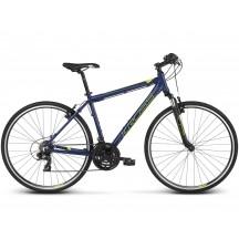 Bicicleta Kross Evado 1.0 28 navy lime matte 2019