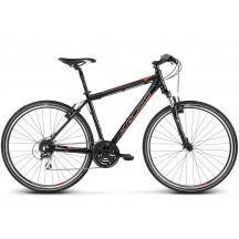 Bicicleta Kross Evado 3.0 28 black red glossy 2019