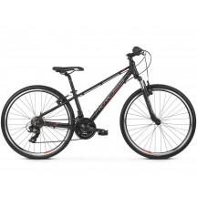 Bicicleta Kross Evado JR 1.0 black red silver matte 2019