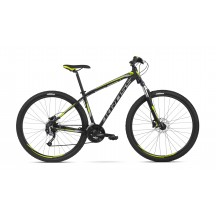 Bicicleta Kross Hexagon 6.0 29 black graph lime mat 2018