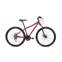 Bicicleta Kross Lea 4.0 26 pink black mat 2018