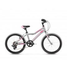 Bicicleta Kross Lea Mini 1.0 D 20 silver pink matte 2019