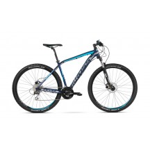 Bicicleta Kross Level 2.0 27 navy blue silver blue glossy 2018