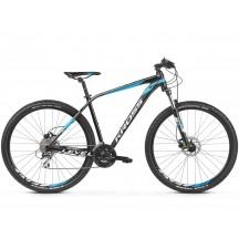 Bicicleta Kross Level 2.0 27 black blue white glossy 2019