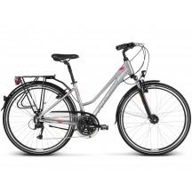 Bicicleta Kross Trans 4.0 28 silver raspberry graphite glossy