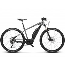 e-bike Kross Level Boost 2.0 29 S black graphite silver glossy