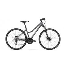 Bicicleta Kross Evado 6.0 graphite black mat 2018
