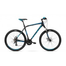 Bicicleta Kross Hexagon 3.0 27.5 black blue navy blue 2018