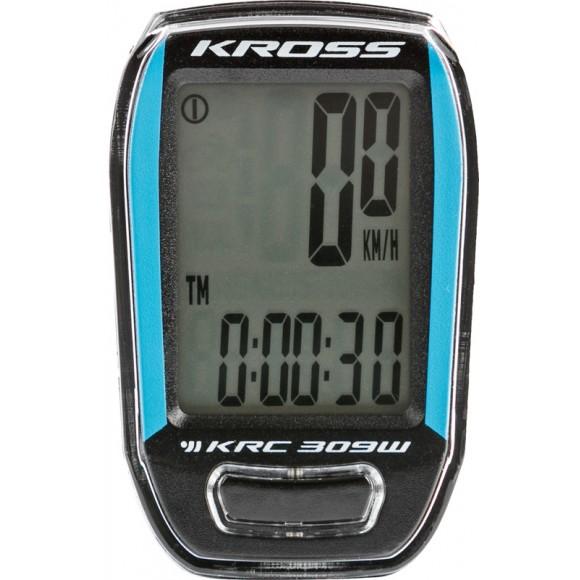 Kilometraj Kross KRC 309 9-functii wireless blue-black
