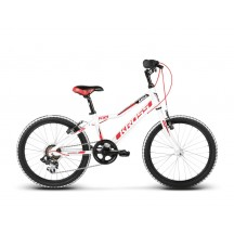 Bicicleta Kross Hexagon Mini 20 white red black glossy 2018
