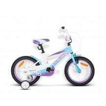 Bicicleta Kross Polly 16 light blue-white-blue 2015