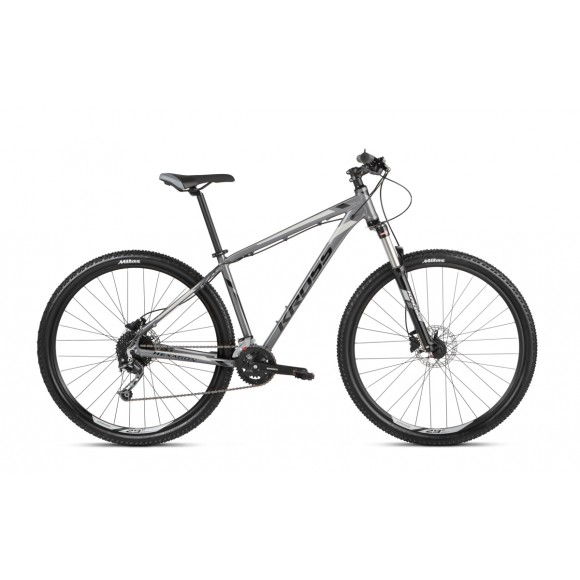 Kross Hexagon 8.0 29 L graphite-silver-black glossy 2021