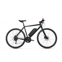e-bike Kross Inzai Hybrid 1.0 M 28 L black matte 2021