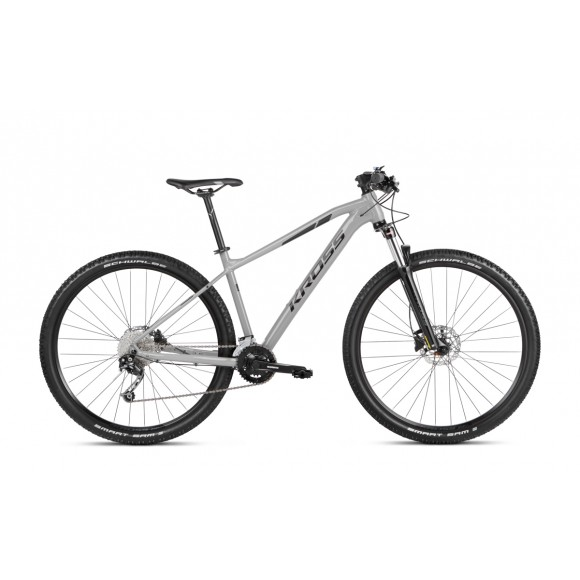 Kross Level 3 SR 29 M grey-black glossy 2021