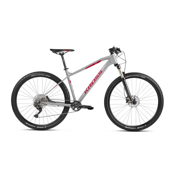 Kross Level 4 SR 29 S 29 grey-red glossy 2021
