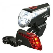 Lumina Bicicleta Trelock Set far LS 280 fata/LS 312 spate