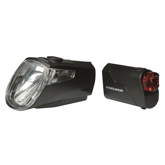 Lumina Bicicleta Trelock Set LS 360 I-GO ECO / LS 720