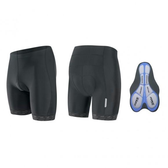 Pantaloni Force B20 cu bazon gel negri M