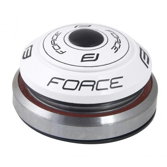 Cuvetarie Force Taper integrata 1.1/8-1.1/2 alba