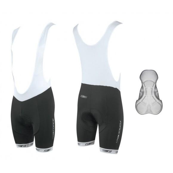 Pantaloni scurti cu bazon si bretele Force B38 XS
