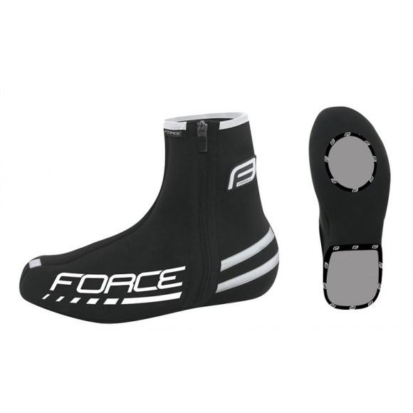 Huse pantofi Force neopren negre XXL
