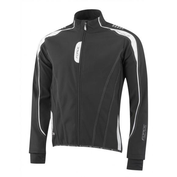 Jacheta Force X72 Men softshell negru-alb L