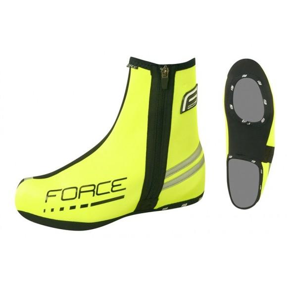 Huse pantofi Force neopren Fluo
