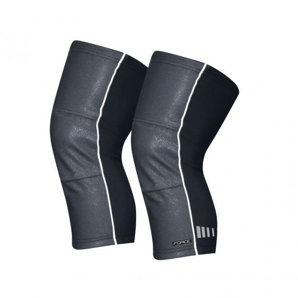 Incalzitoare genunchi Force Wind-X negre L
