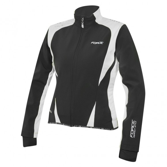 Jacheta Force X71 Lady softshell negru alb